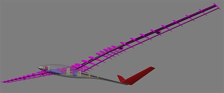 Scratch Designed Built Sailplane Wattflyer Rc Electric Flight